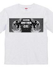 Saber-toothed cat/Black