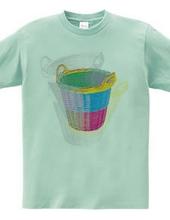 A colorful basket