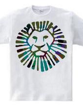 Lion- blue
