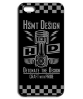 HSMT design PISTON FLYING EYE BLACK GRAY