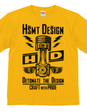 HSMT design PISTON FLYING EYE(BLACK)