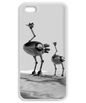 Ostrich robot 006 / monochrome iPhone