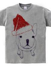 Christmas @ French Bulldog puppy