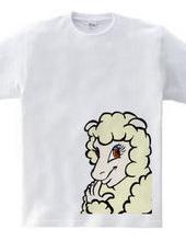 企む羊の女の子