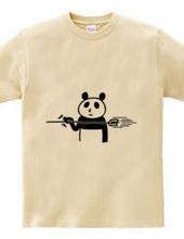 弓道 矢をつまむパンダ