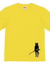Fishing & Black cat