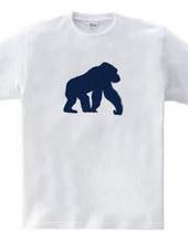 Zooシャツ|ゴリラなのだ