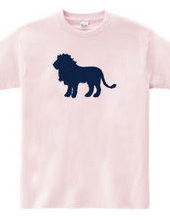 Zooシャツ 百獣の王、堂々たる