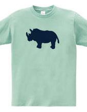 Zoo-Shirt   Valorous Rhino