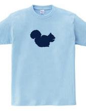 Zooシャツ 愛しいリス