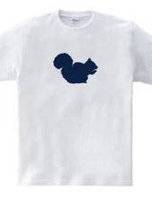 Zooシャツ|愛しいリス