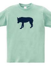 Zooシャツ|孤高の狼