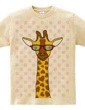 Giraffe and clover