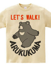 Walking bear!