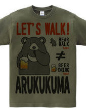 Walking bear!2