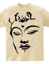 Face of the bodhisattva Manjusri