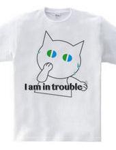 困った〜焦る白猫
