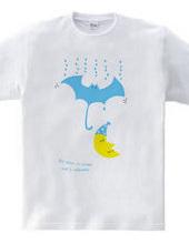 Bats umbrella & Moon