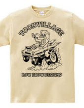 TOONVILLAGE LOW BROW DESIGNS MONOTONE
