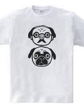 Professor and Pug