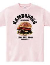 I LOVE ハンバーガー ヴィンテージstyle
