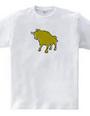 Zooシャツ|雄牛、強し  #2