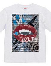LIP ROCK Tシャツ