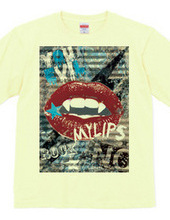 LIP ROCK T shirt