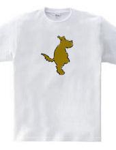 Zooシャツ たたずむ犬。#2