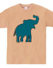 Zoo-Shirt | Jolly-looking elephant #2