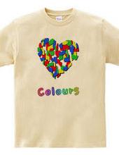 Colors heart