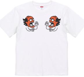 スカジャンTシャツ 怒れるおじさん