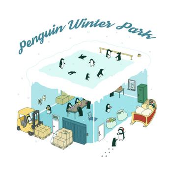 Penguin winter park