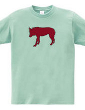 Zoo-Shirt   A solitary wolf  #2