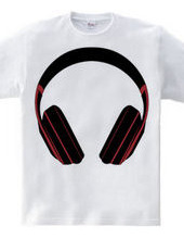ALL TIME IN MY HEADPHONE with red