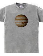 Great red spot of Jupiter