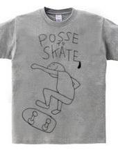 POSSE TO SKATE Skate Ray