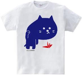 招き猫背(台湾加油)