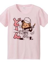 野球女子「どーん」