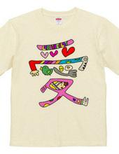 愛ラブTシャツ
