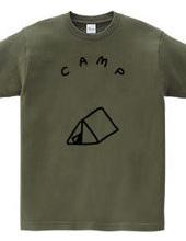 三角のテント