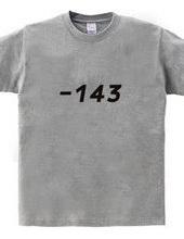 -143 i hate you box logo