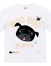 PUG PUG PUPPY パグパグパピー パグ黒