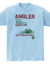 ANGLER FROG frog lure T shirt 1 - vintag
