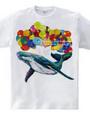 希望のクジラTシャツ
