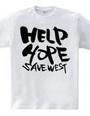 HELP HOPE SAVE WEST