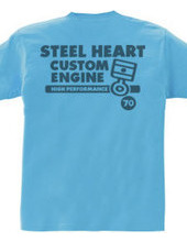 STEEL HEART custom piston rings