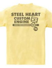 STEEL HEART custom piston rings