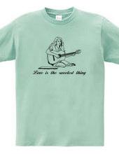 メリーはギターを弾く