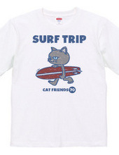 SURF TRIP-cat friends-vintage style